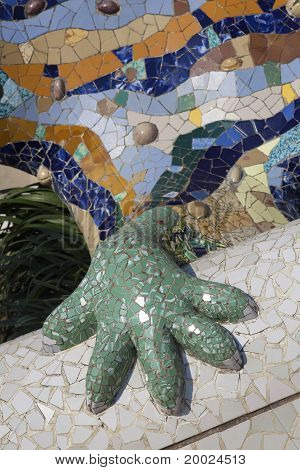 Dragon Of Guell Park