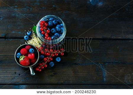 Ingredients For Berry Jam