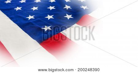 Full frame of American national flag