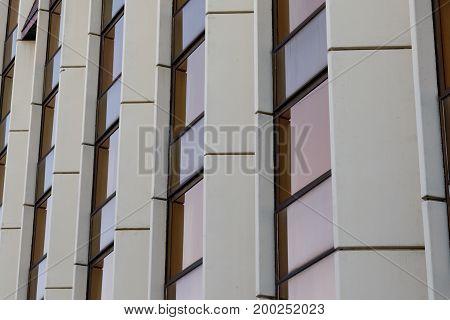 Modern Architectural Exterior Detail