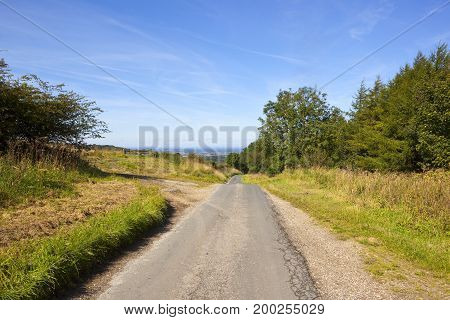 Country Road And Vale Of York