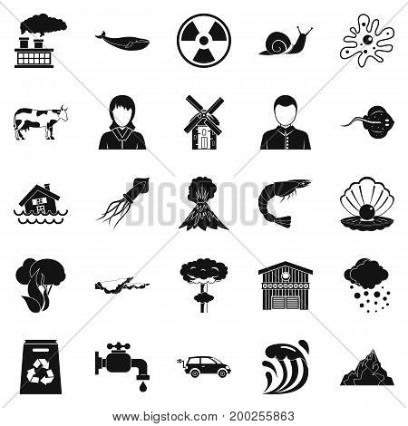 Diversity icons set. Simple set of 25 diversity vector icons for web isolated on white background