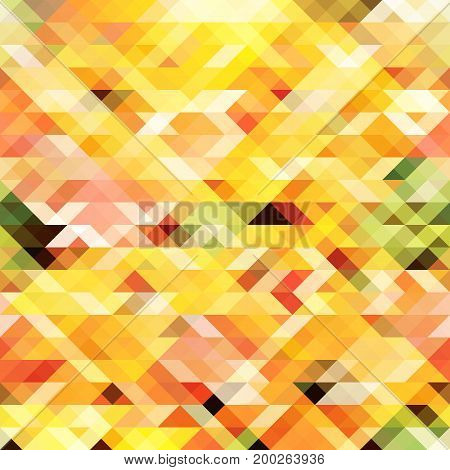 Abstract triangular background. Multicolor texture. Polygonal illustration