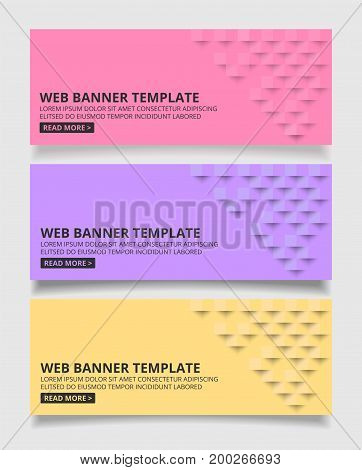 Pink pastel square geometric texture background Abstract square geometric texture.banner background web design for infographics business finance.
