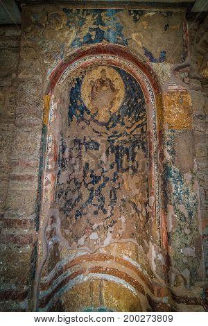 Prophet Elias Or Prophitis Elias, Detail, At Thessaloniki City, Greece
