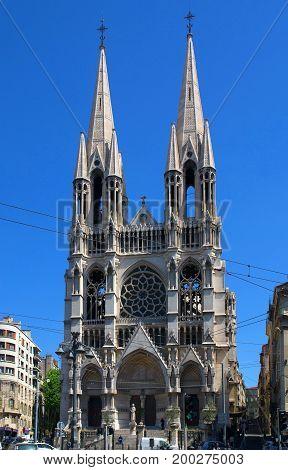 Saint-Vincent-de-Paul, Roman Catholic church in Marseille France
