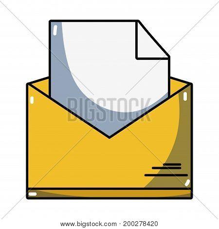 folder file document information archive vector illustration