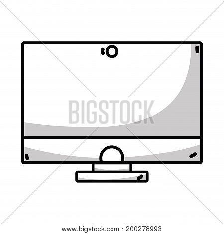 line technology computer electronic connection element vector illustration