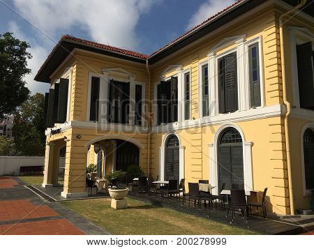 Colonial building, former Sultan Palace, Malay heritage centre in Singapore