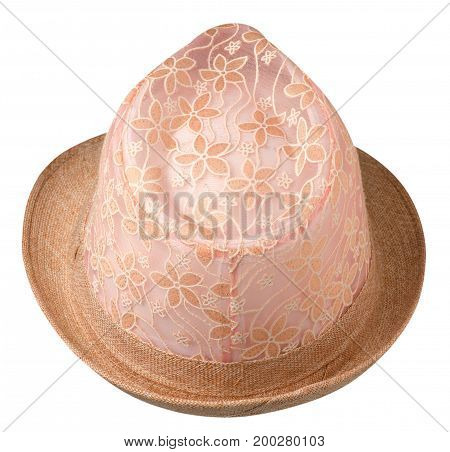 Hat With A Brim .