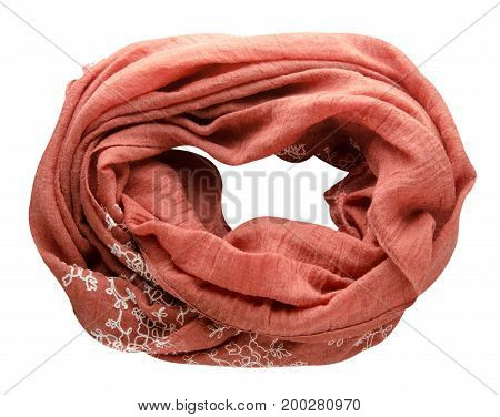 Scarf Top View