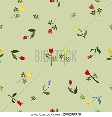 Seamless Floral Pattern. Seamless Floral Pattern. Contemporary Design