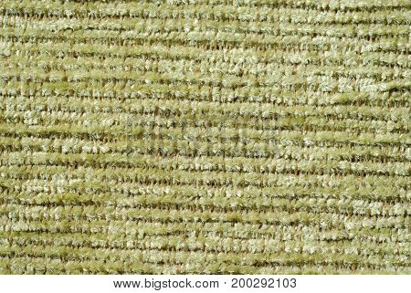 Background of fabric in which the texture and threads are clearly visible