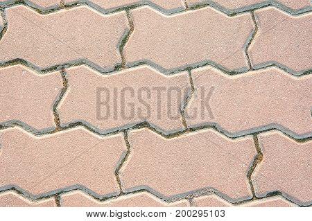 texture paving footpath sidewalk block background basic style