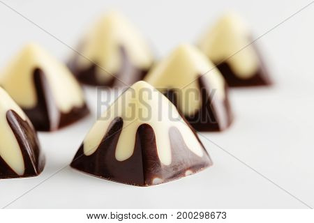 Black And White Chocolate Candy