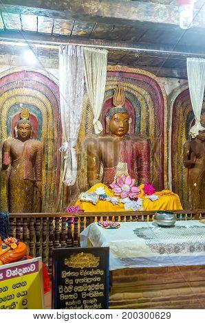 Interior Of Yudaganawa Shrine