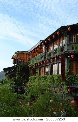 Probably The Most Iconic Tea Shop In Jiu Fen, Taiwan.