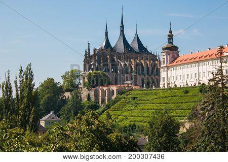 Church of Saint Barbara. UNESCO World Heritage Site. Kutna Hora, Czech Republic