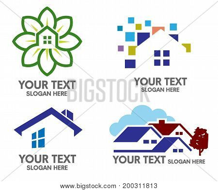 A perfect logo for any online-based real estate agencies, or even companies that deal with building houses