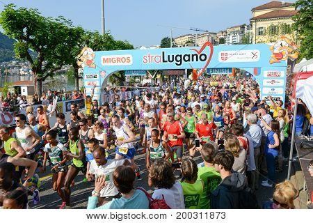 Stralugano Half Marathon