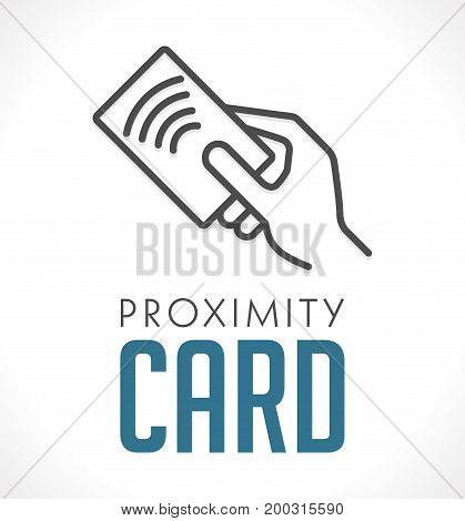 Access control system - proximity card concept