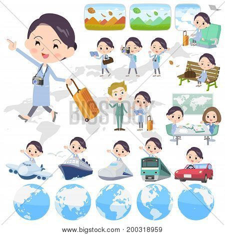 White Coat Women_travel