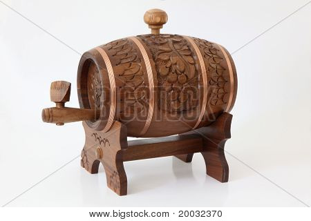 Carving cask