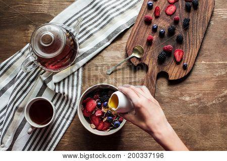 Tea And Corn Flakes