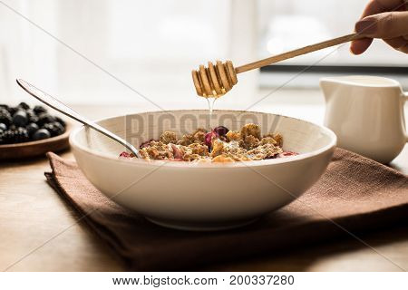 Corn Flakes With Honey