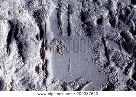 The surface of the moon. Space. The texture of the sand on the moon