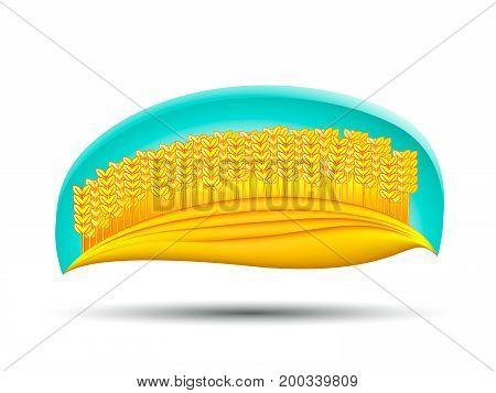 Wheat Field. Logo