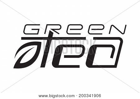 Tea logo package template design vector illustration