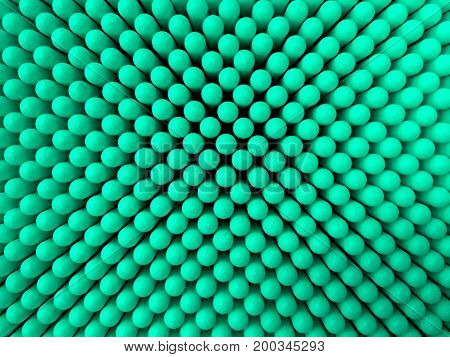 Abstract Dots Background In Blue Colors.