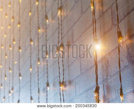 Many Light Bulb And Light.