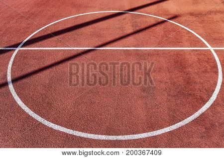 Close Up Picture Of An Outdoor Playing Field.
