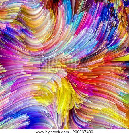 Stream Of Painter Palette