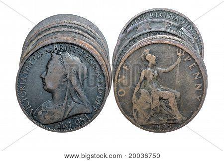 Queen Victoria Pennies