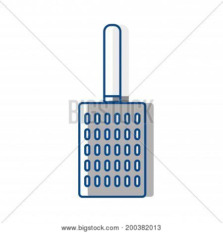 slice kitchen utensil that used to cook vector illustration