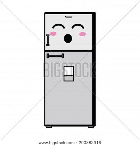kawaii cute funny kitchen utensil vector illustration