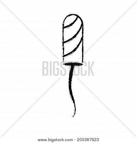 figure hygiene woman sanitary protection of mesntruation vector illustration