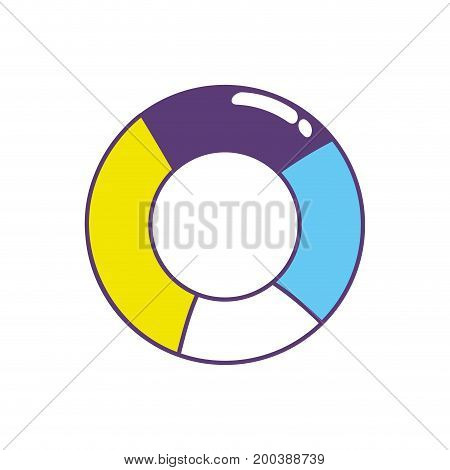 charger symbol to data center information vector illustration