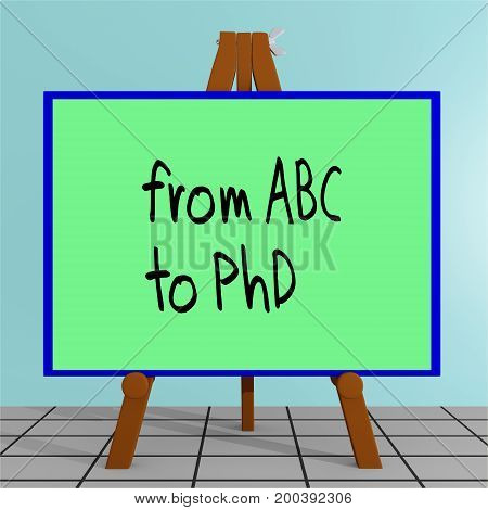 From Abc To Phd Concept