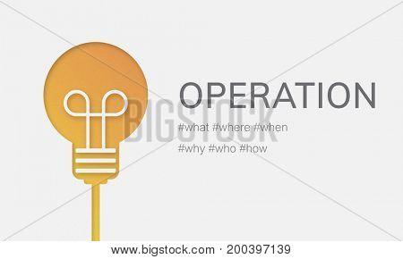 Operation Effective Functional Useful Working