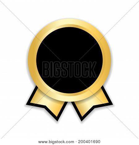 Award Ribbon Gold