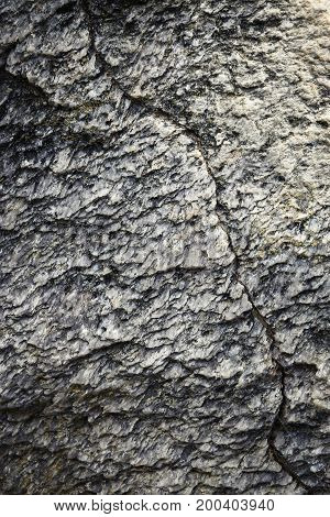 abstract nature background or texture Mica stone detail with crack