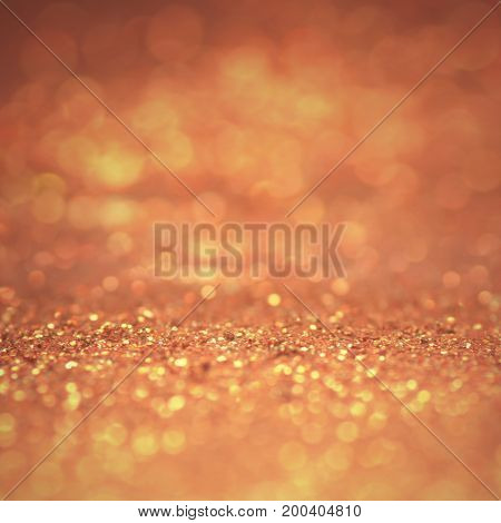 soft focus of gold background texture and abstract floor for christmas and new year - can be used for display or montage your products (or foods)