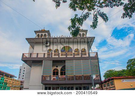 Gurdwara Sahib Kuching. Sarawak Sikh Temple Association. Borneo. Malaysia