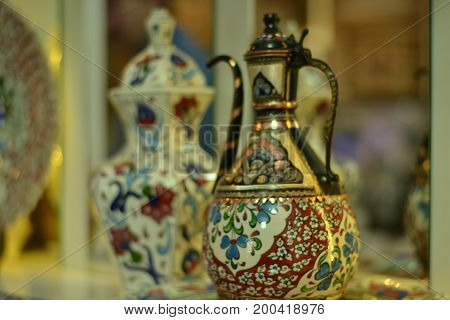 Ceramics which are handicraft products attract attention