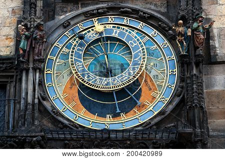 Prague old town square and Astronomical Clock Tower, Prague, Czech Republic