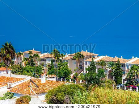 White houses holiday apartments; at costa del sol spain